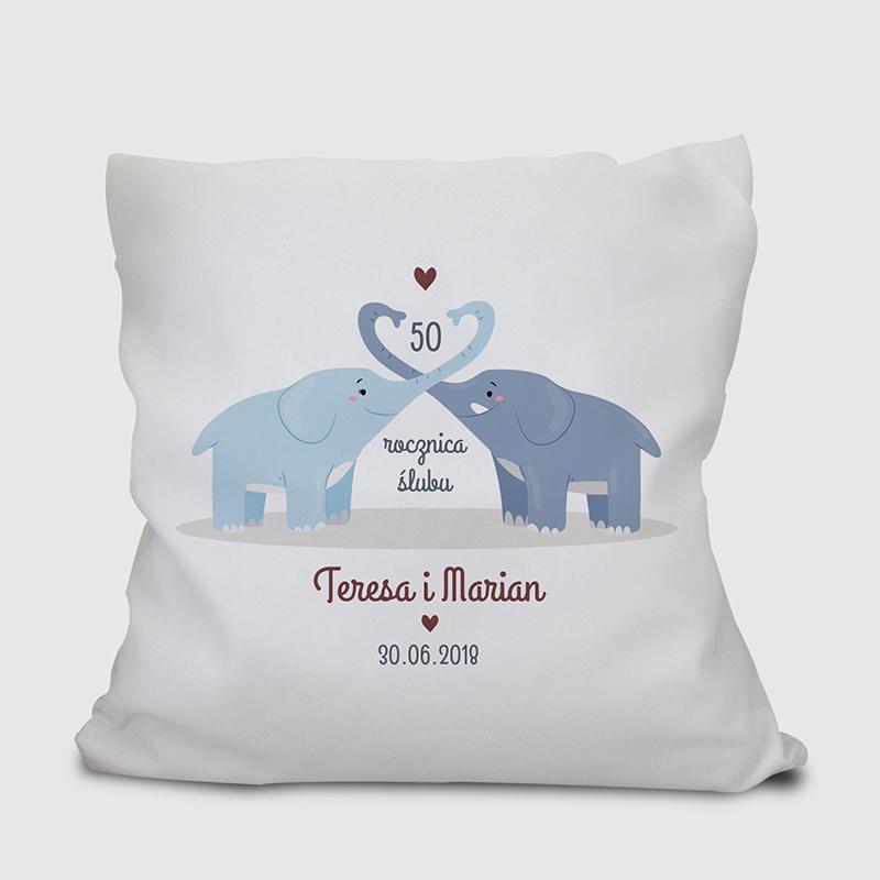 Poduszka na rocznicę ślubu