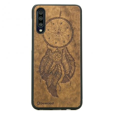 Drewniane Etui Samsung Galaxy A50 ŁAPACZ SNÓW IMBUIA
