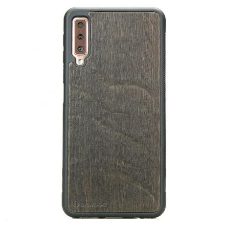 Drewniane Etui Samsung Galaxy A7 2018 DĄB WĘDZONY