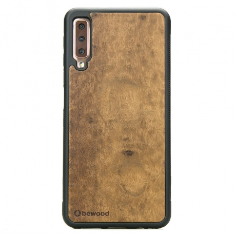 Drewniane Etui Samsung Galaxy A7 2018 IMBUIA