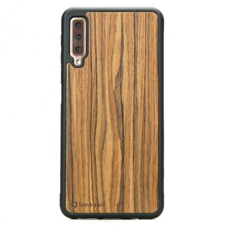 Drewniane Etui Samsung Galaxy A7 2018 OLIWKA