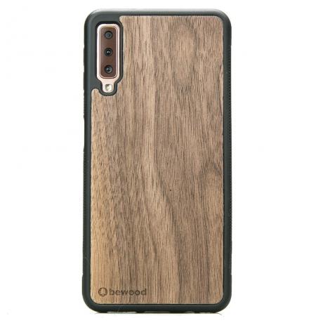 Drewniane Etui Samsung Galaxy A7 2018 ORZECH AMERYKAŃSKI