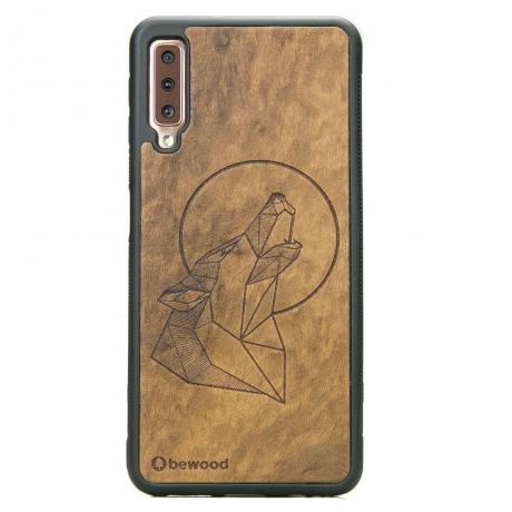 Drewniane Etui Samsung Galaxy A7 2018 WILK IMBUIA