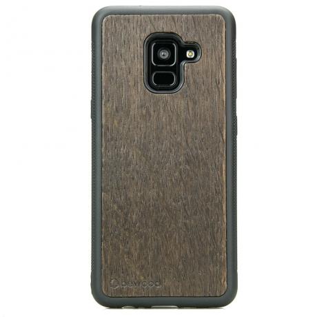 Drewniane Etui Samsung Galaxy A8 2018 DĄB WĘDZONY