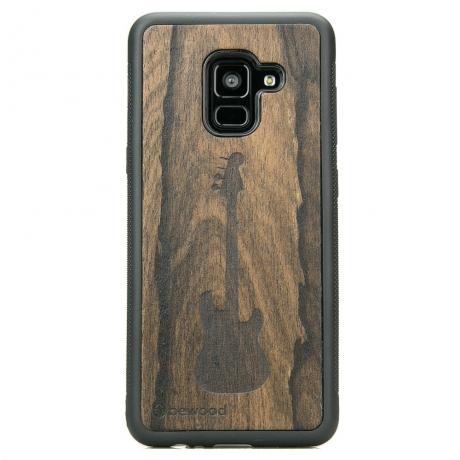 Drewniane Etui Samsung Galaxy A8 2018 GITARA ZIRICOTE