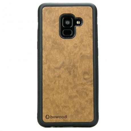Drewniane Etui Samsung Galaxy A8 2018 IMBUIA