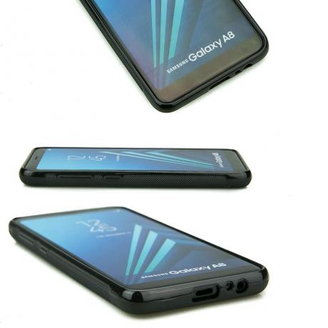Drewniane Etui Samsung Galaxy A8 2018 MANDALA JABŁOŃ