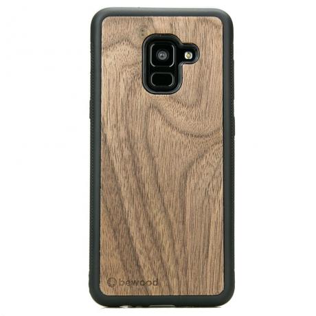 Drewniane Etui Samsung Galaxy A8 2018 ORZECH AMERYKAŃSKI