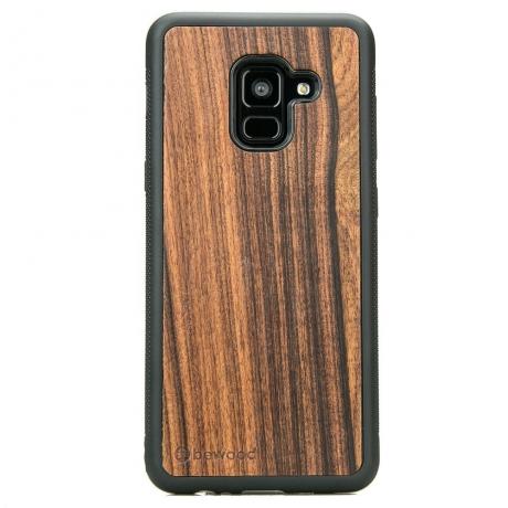 Drewniane Etui Samsung Galaxy A8 2018 PALISANDER SANTOS