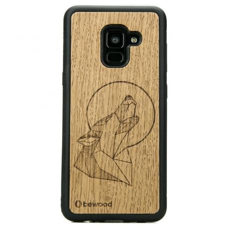 Drewniane Etui Samsung Galaxy A8 2018 WILK DĄB