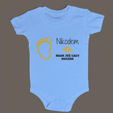 Body niemowlęce na roczek