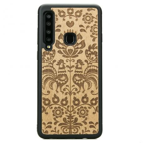 Drewniane Etui Samsung Galaxy A9 2018 POLSKI FOLK ANIEGRE
