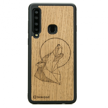 Drewniane Etui Samsung Galaxy A9 2018 WILK DĄB