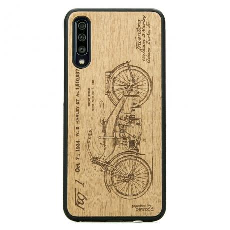 Drewniane Etui Samsung Galaxy A70 HARLEY PATENT ANIEGRE