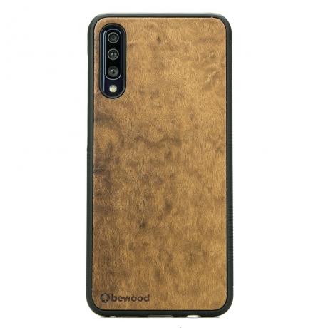 Drewniane Etui Samsung Galaxy A70 IMBUIA