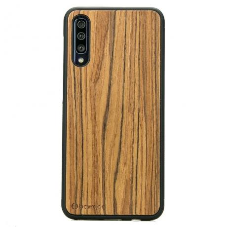Drewniane Etui Samsung Galaxy A70 OLIWKA