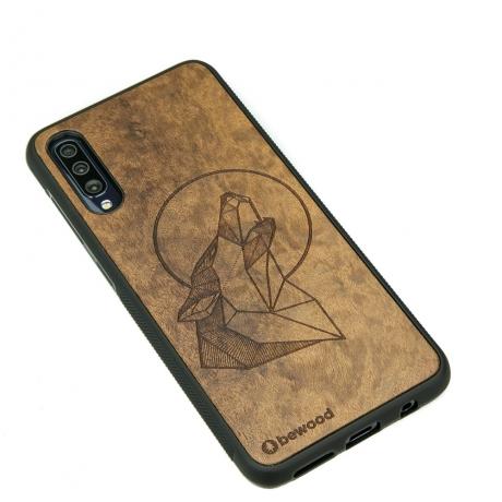 Drewniane Etui Samsung Galaxy A70 WILK IMBUIA