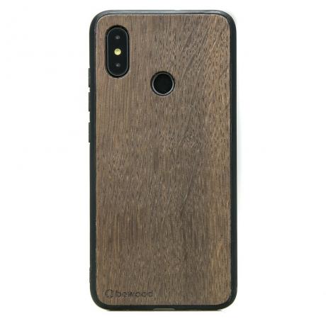 Drewniane Etui Xiaomi Mi 8 DĄB WĘDZONY