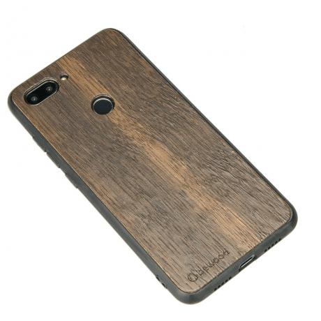 Drewniane Etui Xiaomi Mi 8 Lite DĄB WĘDZONY
