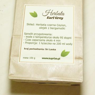 Zestaw herbaciany dla dziadka w ozdobnej skrzynce