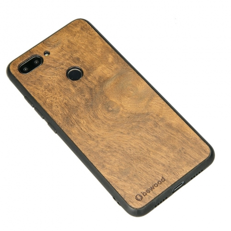 Drewniane Etui Xiaomi Mi 8 Lite IMBUIA