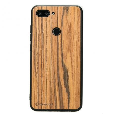 Drewniane Etui Xiaomi Mi 8 Lite OLIWKA