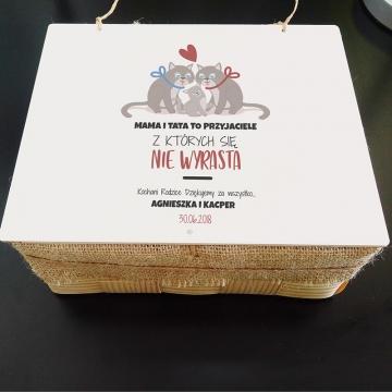 Zestaw kubków na prezent dla rodziców