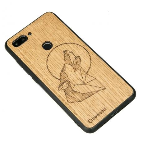 Drewniane Etui Xiaomi Mi 8 Lite WILK DĄB