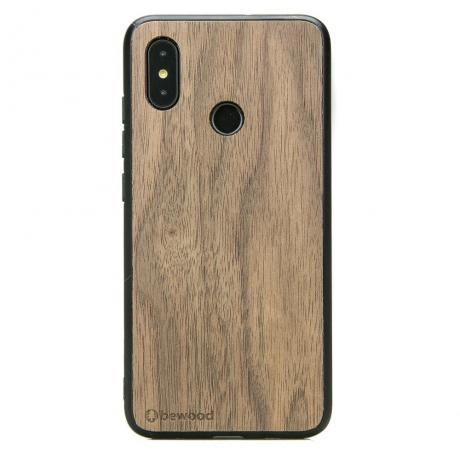 Drewniane Etui Xiaomi Mi 8 ORZECH AMERYKAŃSKI