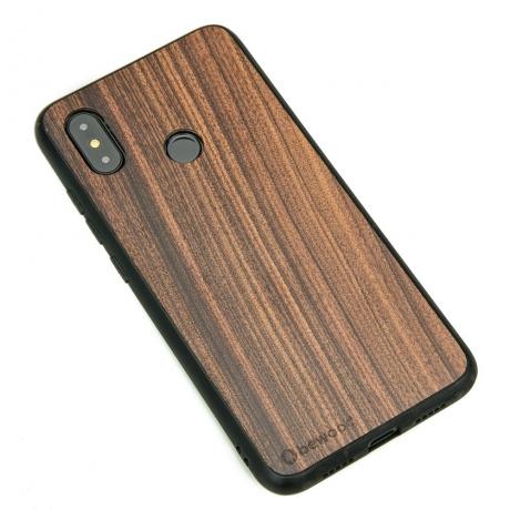Drewniane Etui Xiaomi Mi 8 PALISANDER SANTOS