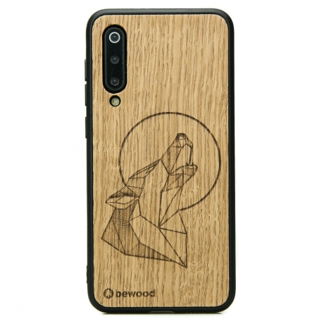 Drewniane Etui Xiaomi Mi 9 SE WILK DĄB