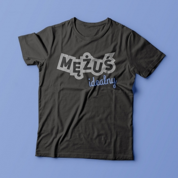 Koszulka z nadrukiem dla męża