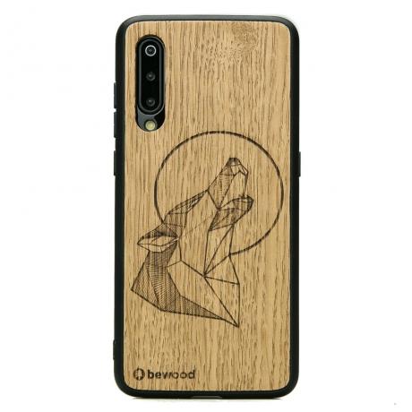 Drewniane Etui Xiaomi Mi 9 WILK DĄB