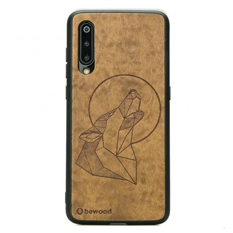 Drewniane Etui Xiaomi Mi 9 WILK IMBUIA