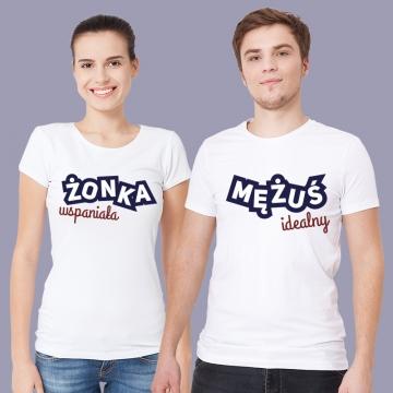 Koszulki dla małżeństwa (komplet)