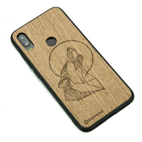 Drewniane Etui Xiaomi Redmi Note 7 WILK DĄB