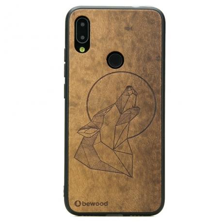 Drewniane Etui Xiaomi Redmi Note 7 WILK IMBUIA