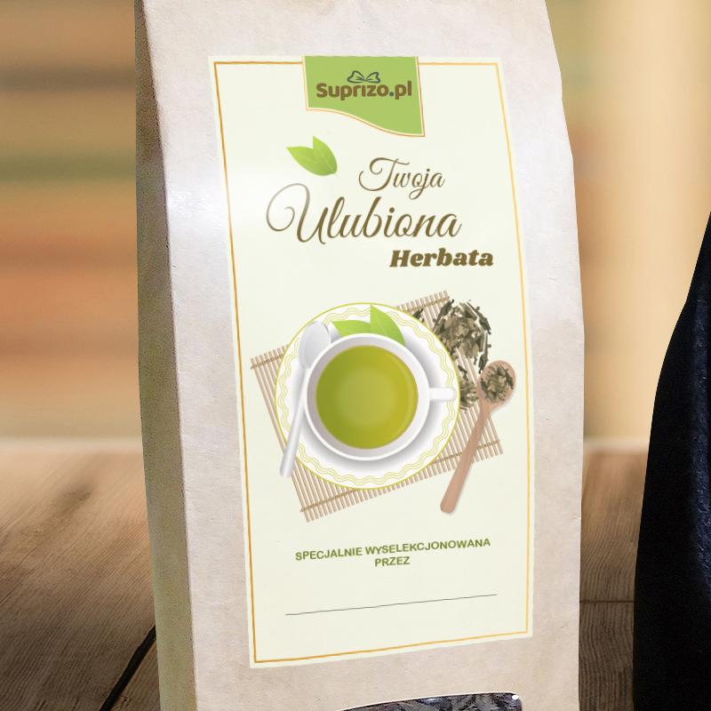 Zestaw herbaciany na prezent dla babci