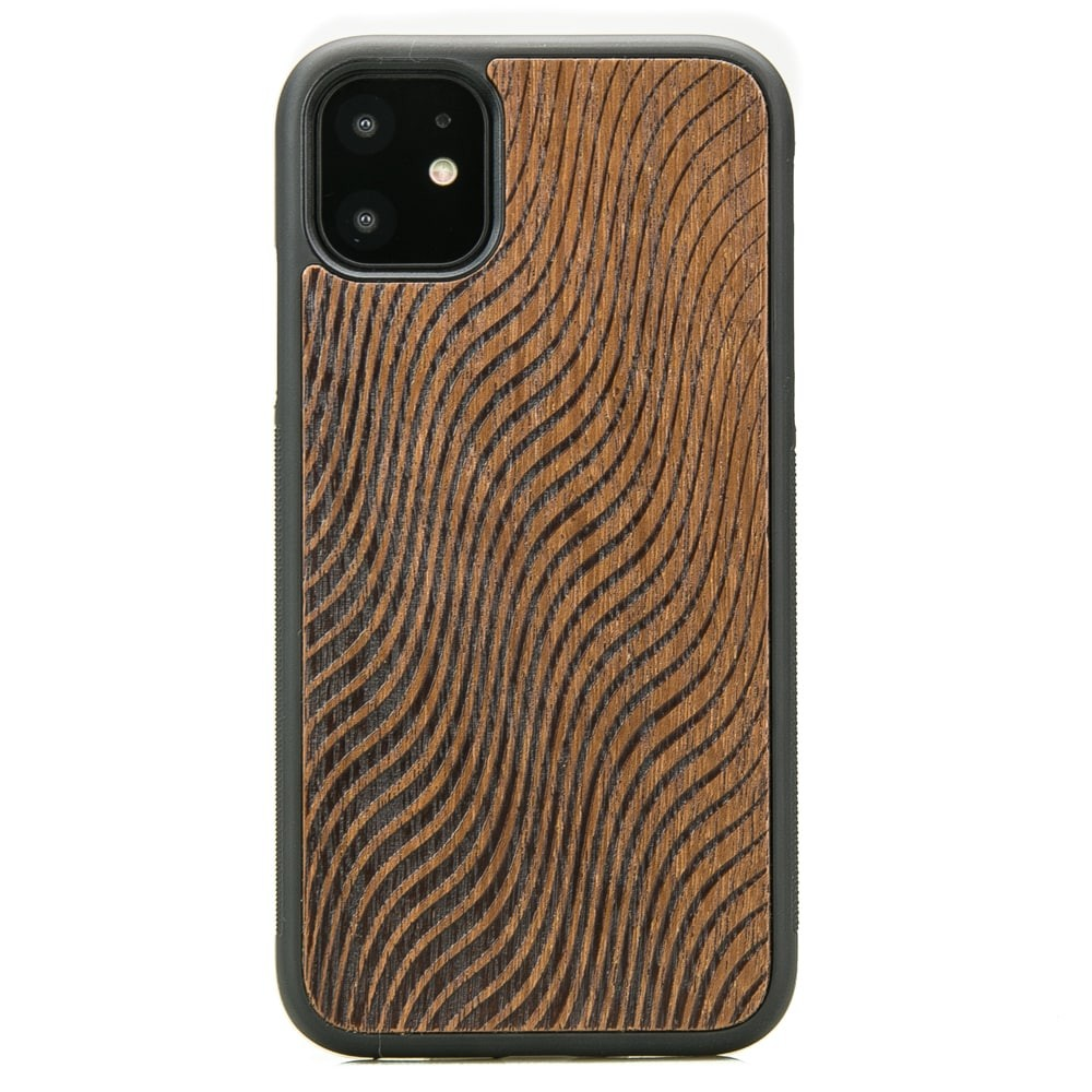 Drewniane Etui iPhone 11 FALE MERBAU