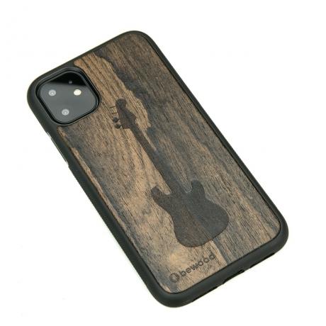 Drewniane Etui iPhone 11 GITARA ZIRICOTE