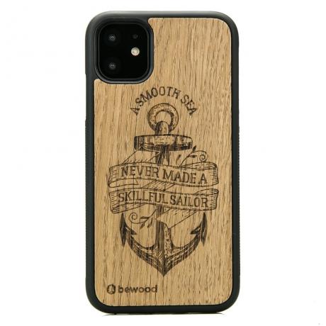 Drewniane Etui iPhone 11 KOTWICA DĄB