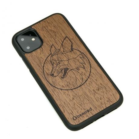 Drewniane Etui iPhone 11 LIS MERBAU