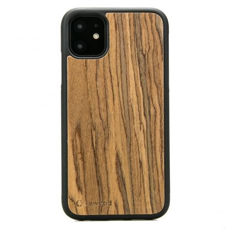 Drewniane Etui iPhone 11 PALISANDER