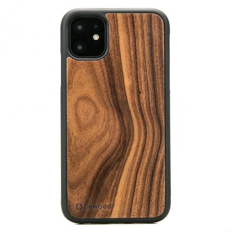 Drewniane Etui iPhone 11 PALISANDER SANTOS
