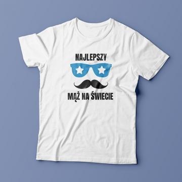 Koszulka dla najlepszego męża na świecie