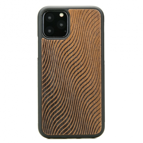 Drewniane Etui iPhone 11 PRO FALE MERBAU