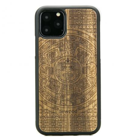 Drewniane Etui iPhone 11 PRO KALENDARZ AZTECKI LIMBA