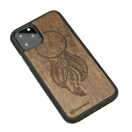 Drewniane Etui iPhone 11 PRO ŁAPACZ SNÓW IMBUIA