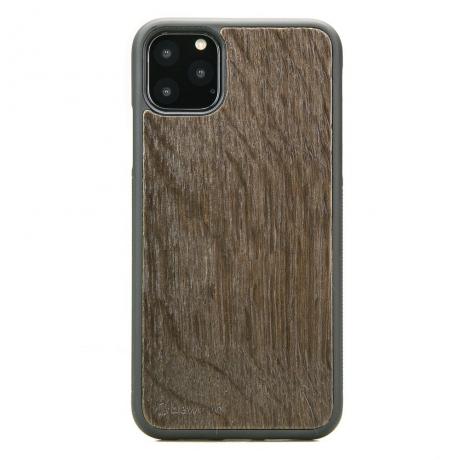 Drewniane Etui iPhone 11 PRO MAX DĄB WĘDZONY