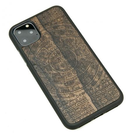 Drewniane Etui iPhone 11 PRO MAX KALENDARZ AZTECKI ZIRICOTTE